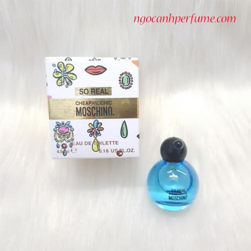 Nước Hoa So Real Cheap & Chic Moschino 4.9ml