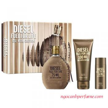 Gift Set Diesel Fuel for Life Pour Homme 3pcs