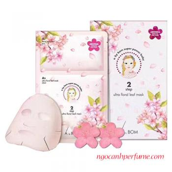 Mặt Nạ 2 Bước A.By.Bom Step Ultra Floral Leaf Mask  31mL