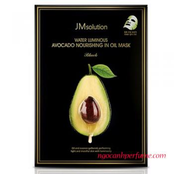 Mặt nạ bơ JM Solution Water Luminous Avocado Nourishing In Oil Mask 30ml