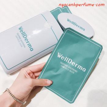 MẶT NẠ WELLDERMA TEATREE SOOTHING AMPOULE MASK