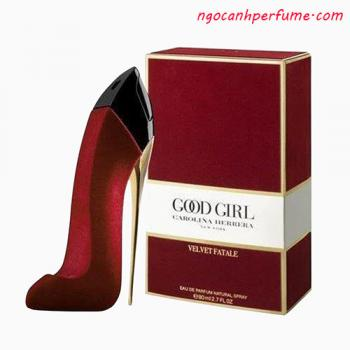 Nước Hoa Carolina Herrera Good Girl Velvet Fatale EDP (80ml)