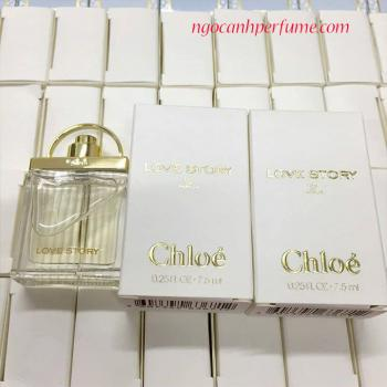 Nước Hoa  Chloe Love Story For Women EDP 7,5ml
