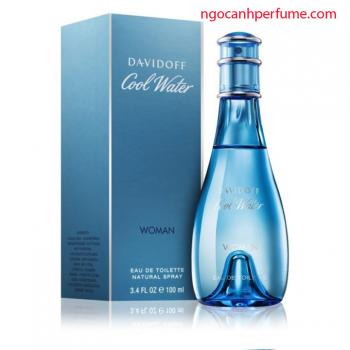 Nước hoa Davidoff Cool Water Woman EDT 100ml