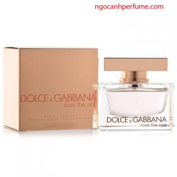 Nước hoa Dolce & Gabbana Rose The One 75ml