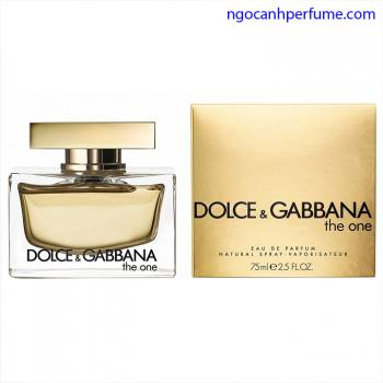 Nước hoa Dolce&  Gabbana The One Eau de Parfum 75ml