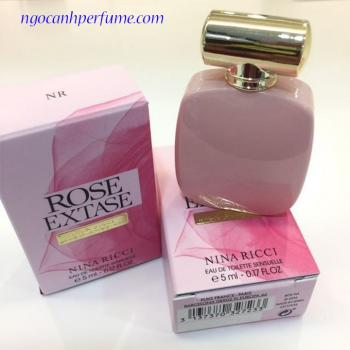 Nước Hoa Mini Nina Ricci Rose Extase 5ml