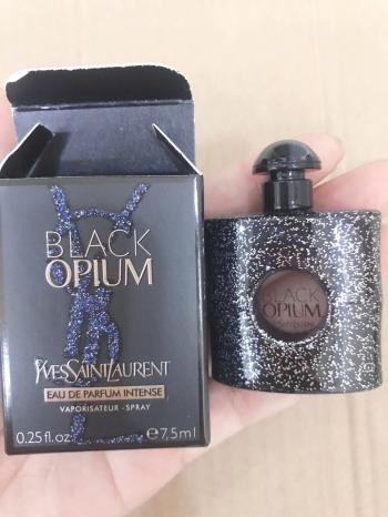 Nước hoa Yves Saint Laurent Black Opium Eau De Parfum Intense 7,5ml