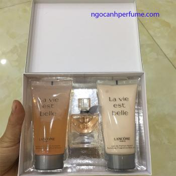 Set Lancome La vie est belle edp (30ml + 50ml bodylotion + showergel)