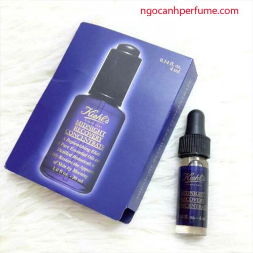 Tinh chất dưỡng da Kiehl's Midnight Recovery Concentrate (4ml)